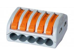 WAGO Złączka uniwersalna 5-przewodowa z dźwigniami zwalniającymi