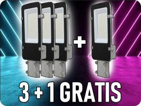 Lampa uliczna LED 30W (3600Lm), SAMSUNG chip, A ++, 3+1 gratis!