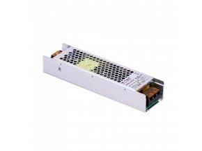 Metalowy zasilacz do taśm LED 120W/5A, DC 24V, IP20