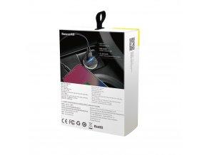 Baseus ładowarka samochodowa PPS QC 4.0+ USB + PD czarna