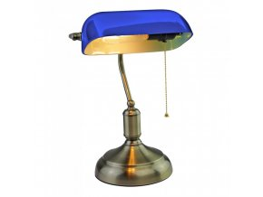LED LAMPKA BIURKOWA E27, maks. 60W, niebieska