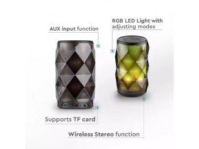 Przenośny głośnik Bluetooth 3W, 1200mAh baterii