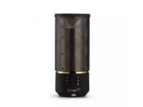 Przenośny głośnik BlueTooth 2x3W, bateria 1200 mAh, 6 poziomów światła