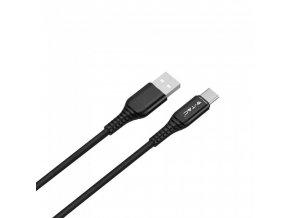 Kabel USB-C, 1 m, czarny, 2.4A
