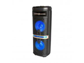 120W ładowalny głośnik na kółkach, z mikrofonem, wytrzymałość 2 do 4 godzin