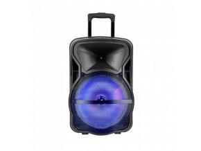 50W ładowalny głośnik na kółkach, z mikrofonem 2200 mAh, wytrzymałość 2-4 godzin