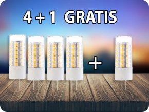 G4 LED ŻARÓWKA 3,2W (385LM) – SAMSUNG CHIP, 4+1 gratis!