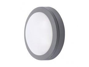 Solight LED Zewnętrzne oświetlenie okrągłe, szare, 13W (910 lm), 4000K, IP54