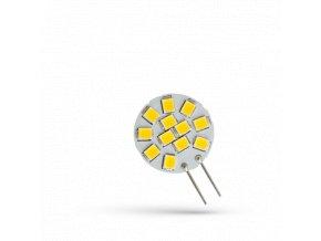 Żarówka LED Spectrum G4, 1,2W, 12LED, 12V, 20mm