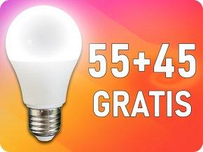 ★E27 LED Żarówka 9W (806 lm),  A60, 50+50 GRATIS!