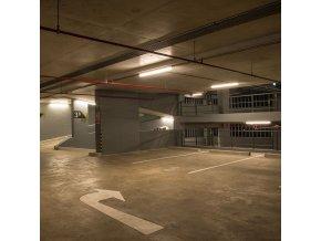 Wodoodporna lampa LED 32W, 5120lm (160lm/W), seria WP X, 150cm