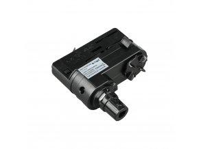 Adaptor Szynoprzewodu V-TAC 4 Track Light Czarny