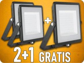 LED NAŚWIETLACZ 100W (8000LM), SAMSUNG CHIP, czarny, 2+1 gratis!