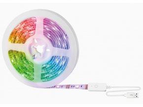 Inteligentna taśma LED RGB Gosund SL1, 5V/1A, pakiet 2.8m, aplikacja Smart Life (aplikacja Tuya)