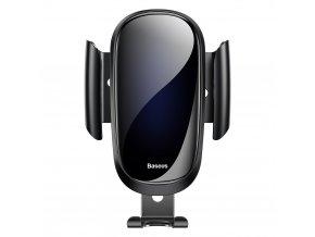 Uchwyt na telefon komórkowy Baseus do samochodu grawitacyjnego Future pod kratkę wentylacyjną, czarny