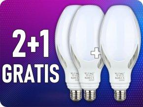 E27 LED ŻARÓWKA 36W (3960LM), SAMSUNG CHIP, 2+1 gratis!