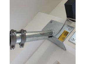 Wysięgnik narożny 300mm, średnica 60mm, ocynkowany