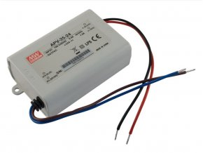 Zasilacz Meanwell LED, APV-35-24, 35W, 24V, IP67