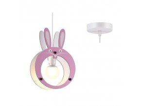Lampa wisząca króliczek, 1xE27