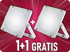 LED NAŚWIETLACZ 200W (16000LM), SAMSUNG CHIP, 1+1 gratis!