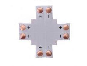 ´´ + ´´ Krzyżowy KONEKTOR do Taśm LED, 10MM, 2PIN