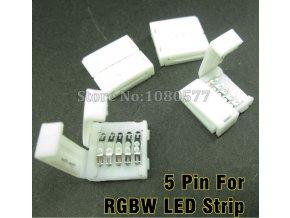 Konektor prosty taśm LED 5050 (RGB+W)