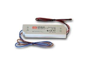 Zasilacz instalacyjny MEAN WELL do Taśm LED 60W/5A