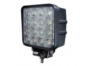 LED Epistar Lampa robocza, kwadratowa, 27W, 3120 lm, 10-30V, IP67