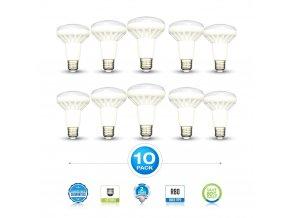 E27 Żarówka LED 10W, R80, opakowanie 10ks