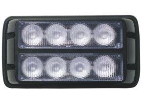 Lampa błyskowa-stroboskop LED, 8W, 12-24V,  pomarańczowa, IP67