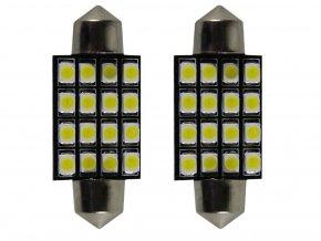 Żarówka samochodowa LED C5W, 16 X LED, 39MM