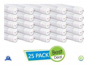 Świetlówka LED T8, 18W, 120 CM, G13, NANO plastik, (2250 LM), A++ - 25 PACK