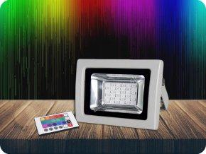 LED RGB Naświetlacz, 10W IR