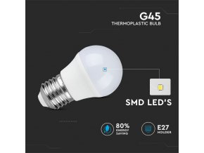 E27 Żarówka LED 4W (320 lm), G45
