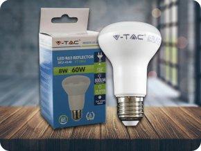 E27 Żarówka LED 8W (500 lm), R63