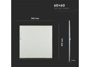 Panel LED 45W, kwadrat 60X60 CM (5400LM), premium A++ (Barwa światła biała zimna)