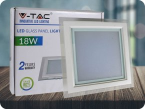 LED Panel 18W (1260 lm), kwadratowy