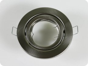 Oprawa  na GU10/GU5.3, okrągła, nastawna