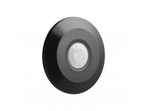 Czujnik ruchu i zmierzchu, 360 °, czarny