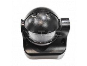 Infraczerwony czujnik ruchu na ścianę , 180 °, IP44, czarny