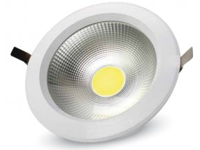COB LED lampa podtynkowa 20W, premium, A++