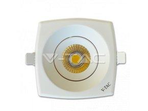 COB LED Lampa podtynkowa 8W