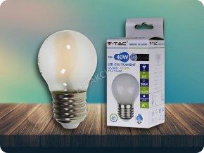 E27 LED Retro filament Żarówka 4W, efekt dymu