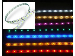 LED  Taśma 4,8W/m,  SMD5050 - 30 LED/M, RGB