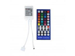 Sterownik IR  LED RGB + W , pilot, 72 W