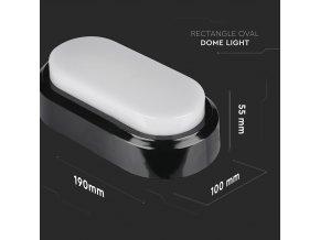 LED Plafon / Lampa ścienna 8W, 560lm, 4500K