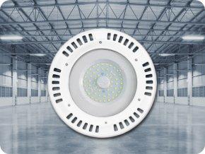 PRZEMYSŁOWY NAŚWIETLACZ LED UFO 50W (4000LM), A ++, BIAŁY