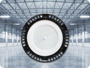 PRZEMYSŁOWY LED NAŚWIETLACZ UFO 100W (13000LM), HIGH BAY A++, 120°