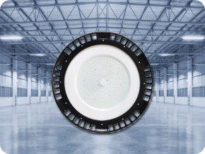 PRZEMYSŁOWY LED NAŚWIETLACZ UFO 150W (19500LM), HIGH BAY, A++, 120°