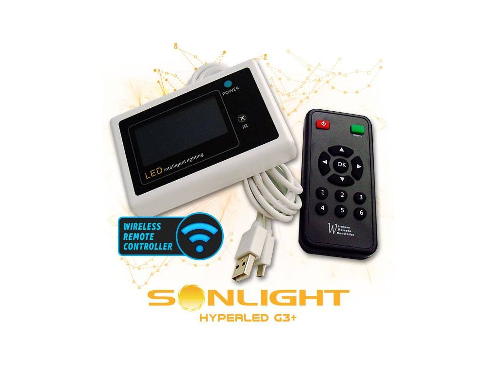 sonlight g3 wireless remote controller for indoor led Img Principale 26357
